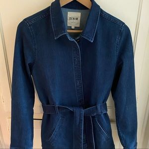 Sezane Thea Jacket with Belt Sz 38